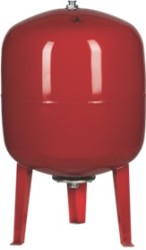 "80 L Pressure Tank - Vertical - Steel - 1"" (red)"
