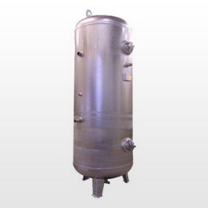 Tank 750L (16 bar) Galvanized - Vertical